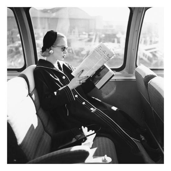 Vogue - April 1955-Leombruno-Bodi-Premium Photographic Print