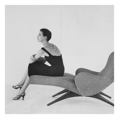 Vogue - April 1956-Karen Radkai-Premium Photographic Print
