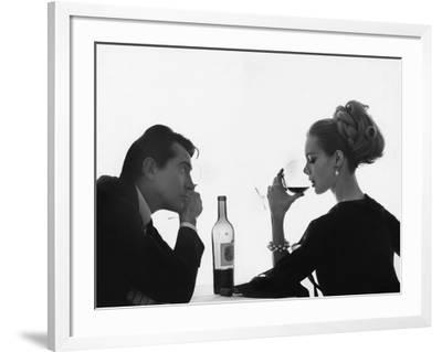 Vogue - April 1962-Bert Stern-Framed Premium Photographic Print