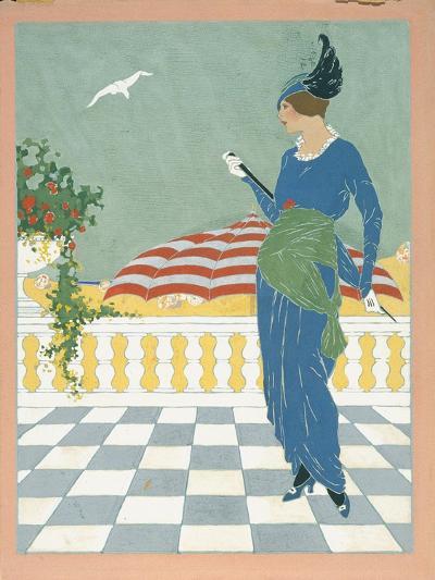 Vogue - August 1913-Will Hammell-Premium Giclee Print