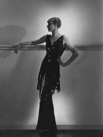 Vogue - August 1934-Horst P. Horst-Premium Photographic Print