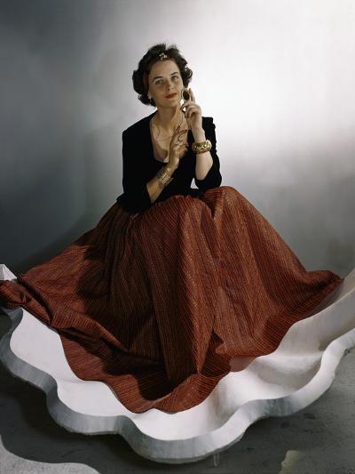 Vogue - August 1941-Horst P. Horst-Premium Photographic Print