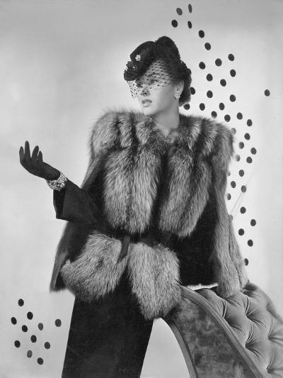 Vogue - August 1942-Horst P. Horst-Premium Photographic Print