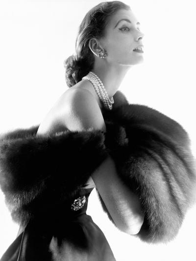 Vogue - August 1954-Horst P. Horst-Premium Photographic Print