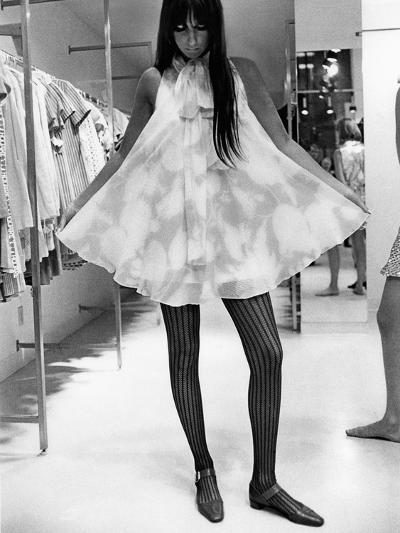 Vogue - August 1967-Arnaud de Rosnay-Premium Photographic Print