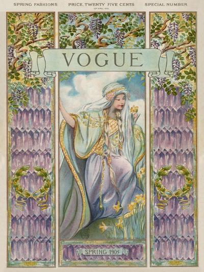 Vogue Cover - April 1905--Premium Giclee Print