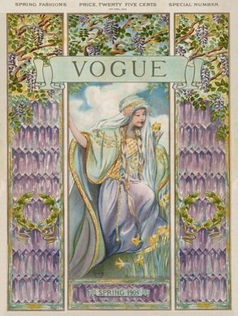 Vogue Cover - April 1905