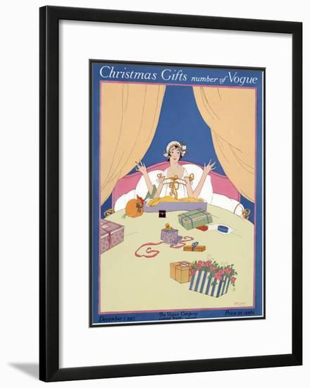 Vogue Cover - December 1915-Robert McQuinn-Framed Giclee Print