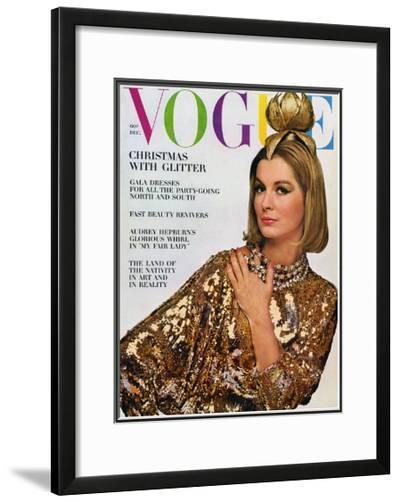 Vogue Cover - December 1963-Bert Stern-Framed Giclee Print