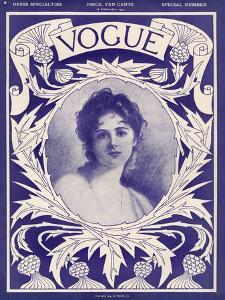 Vogue Cover - February 1904