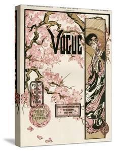 Vogue Cover - February 1905