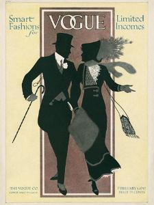 Vogue Cover - February 1912