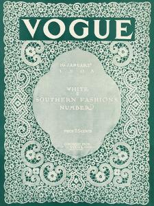 Vogue Cover - January 1908