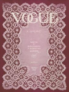 Vogue Cover - January 1909