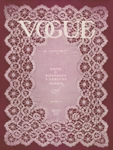 Vogue Cover - January 1909