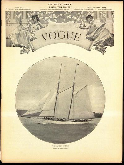 Vogue Cover - June 1902-Harry Coutant-Premium Giclee Print