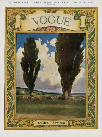Vogue Cover - May 1905--Premium Giclee Print