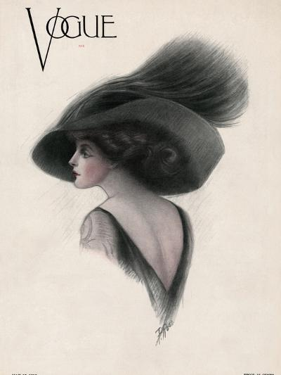Vogue Cover - May 1910-F. Rose-Premium Giclee Print