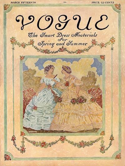 Vogue Cover - May 1910-David Peirson-Premium Giclee Print