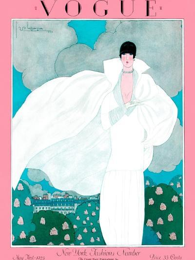 Vogue Cover - May 1925 - Spring Breeze-Georges Lepape-Premium Giclee Print