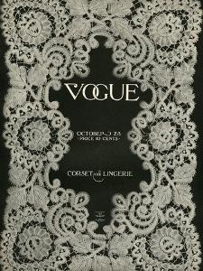 Vogue Cover - October 1909