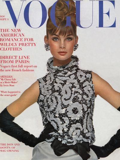 Vogue Cover - September 1963-Bert Stern-Premium Giclee Print