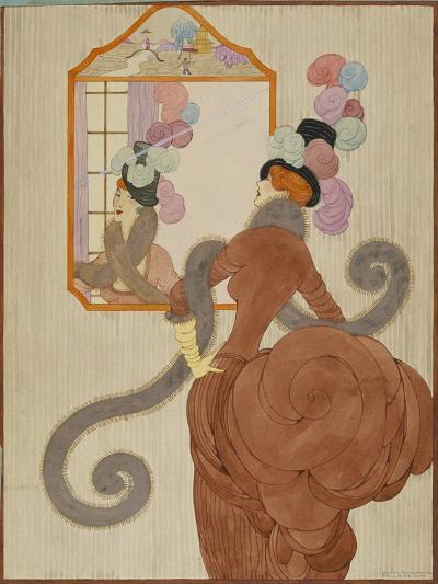Vogue - December 1920-Helen Dryden-Premium Giclee Print