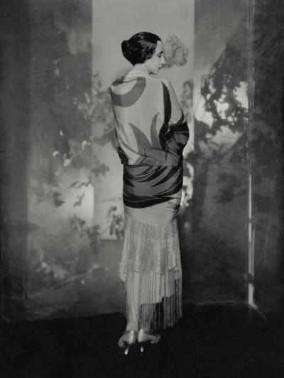 Vogue - December 1924-Edward Steichen-Premium Photographic Print