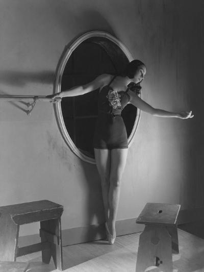 Vogue - December 1938-Horst P. Horst-Premium Photographic Print