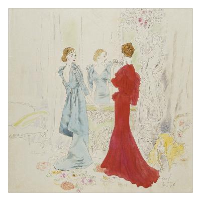 Vogue - February 1934-Cecil Beaton-Premium Giclee Print