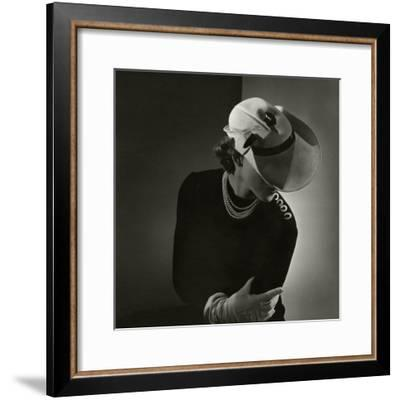 Vogue - February 1935-Horst P. Horst-Framed Premium Photographic Print