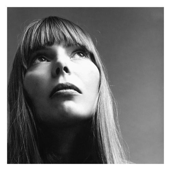 Vogue - February 1969 - Joni Mitchell-Jack Robinson-Premium Photographic Print