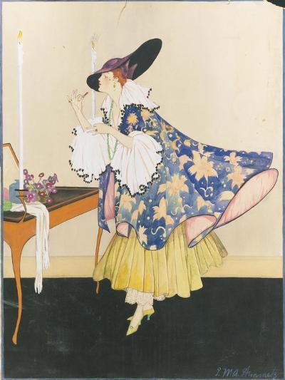 Vogue - January 1915-E.M.A. Steinmetz-Premium Giclee Print