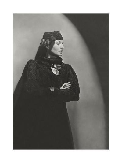 Vogue - January 1936-Horst P. Horst-Premium Photographic Print