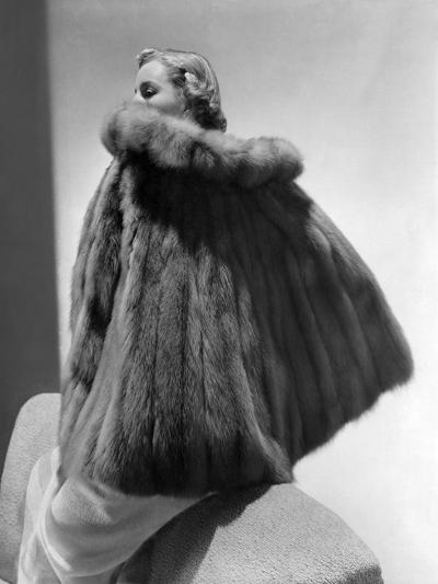 Vogue - January 1938-Horst P. Horst-Premium Photographic Print