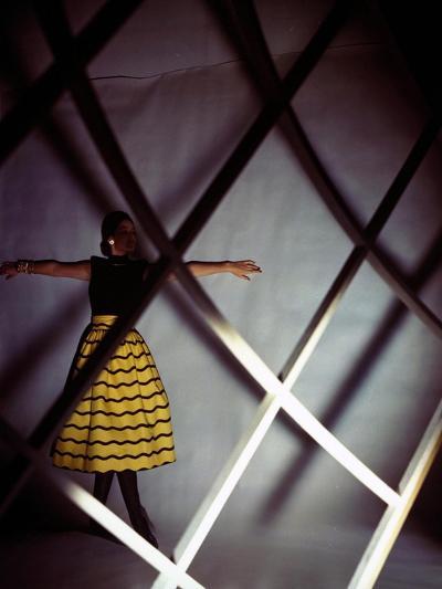 Vogue - January 1945-Serge Balkin-Premium Photographic Print