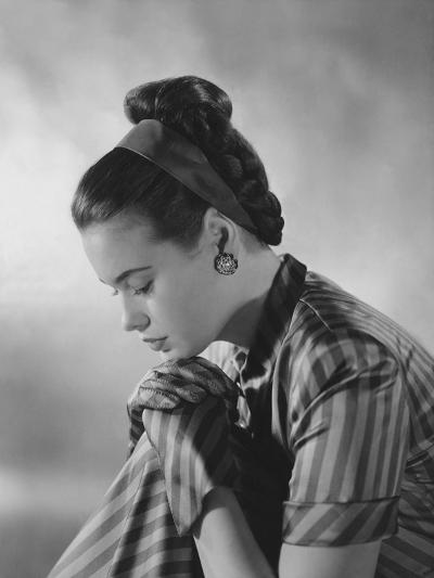 Vogue - January 1945-Frances Mclaughlin-Gill-Premium Photographic Print