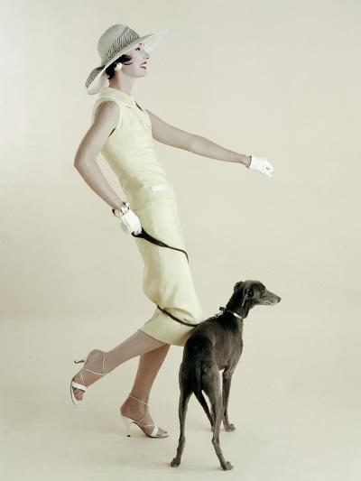 Vogue - January 1955-Richard Rutledge-Premium Photographic Print
