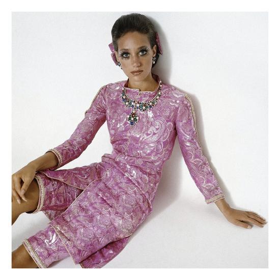 Vogue - January 1969-Gianni Penati-Premium Photographic Print