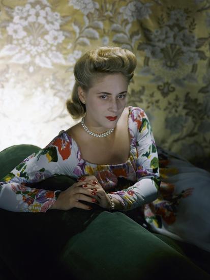 Vogue - July 1941-Horst P. Horst-Premium Photographic Print