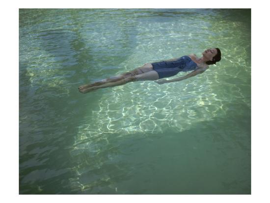 Vogue - July 1948 - Bathing Beauty-John Rawlings-Premium Photographic Print