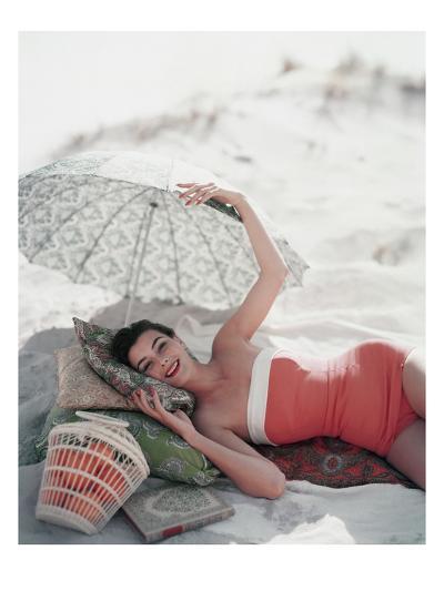 Vogue - July 1954-Karen Radkai-Premium Photographic Print