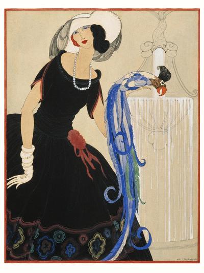 Vogue - June 1921-Helen Dryden-Premium Giclee Print