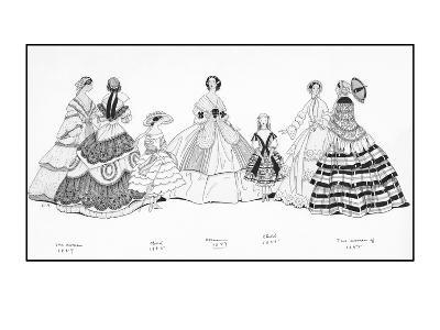 Vogue - June 1930-Claire Avery-Premium Giclee Print