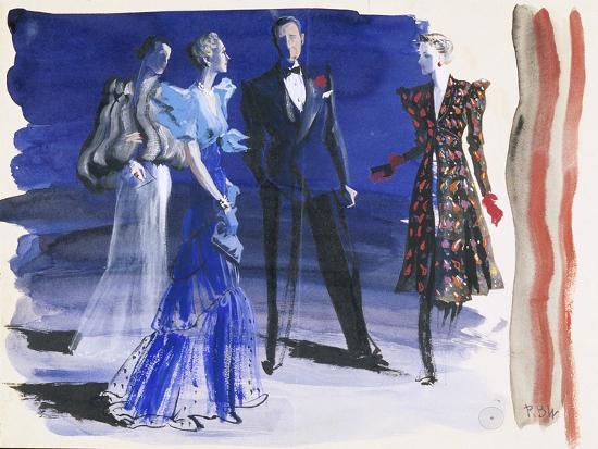 Vogue - June 1936-Ren? Bou?t-Willaumez-Premium Giclee Print