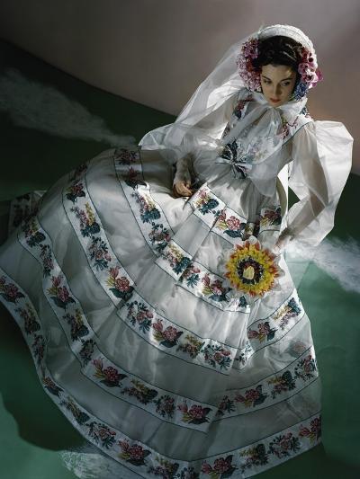 Vogue - June 1940-Horst P. Horst-Premium Photographic Print