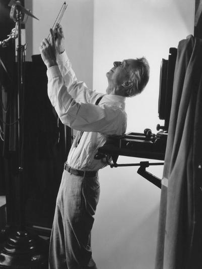 Vogue - June 1941 - Edward Steichen at Work-George Hoyningen-Huen?-Premium Photographic Print