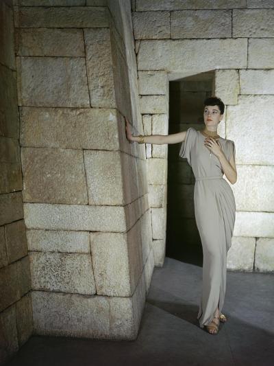 Vogue - June 1945-John Rawlings-Premium Photographic Print