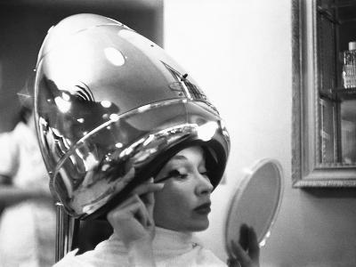 Vogue - June 1949 - Under the Dryer-Constantin Joff?-Premium Photographic Print