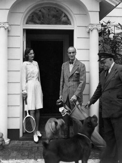 Vogue - June 1949-Horst P. Horst-Premium Photographic Print